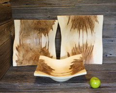 Ambrosia Maple Square Bowls, three sizes