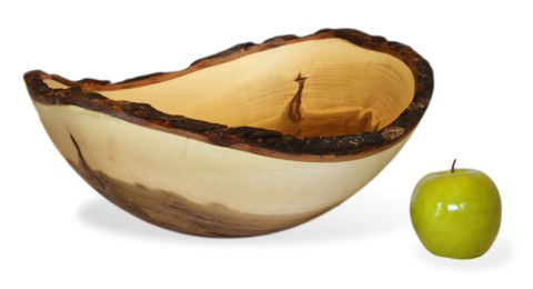 Ambrosia Maple Bark Edge Bowl