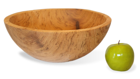 Natural Oak Bowl