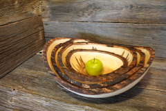 Ambrosia Maple Bark Edge Bowl, all sizes
